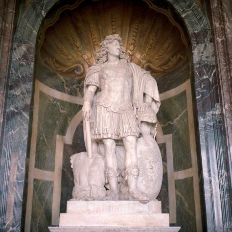 Louis XIV as Mars, God of War