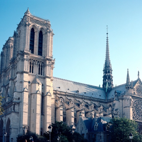 Notre Dame, Side View