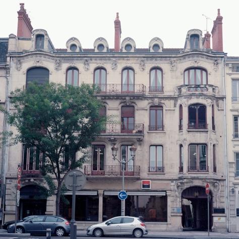 Facade, Number 16-18 Boulevard de la Republique, Chalon-sur-Saone