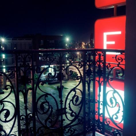 Balcony Rail, Plaza, Hotel St. Georges