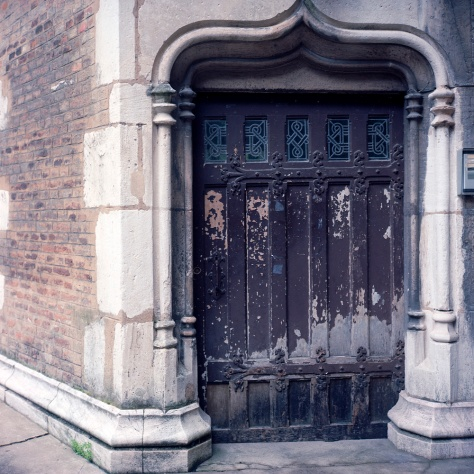 Staircase Tower Door, 17th Century Courtyard