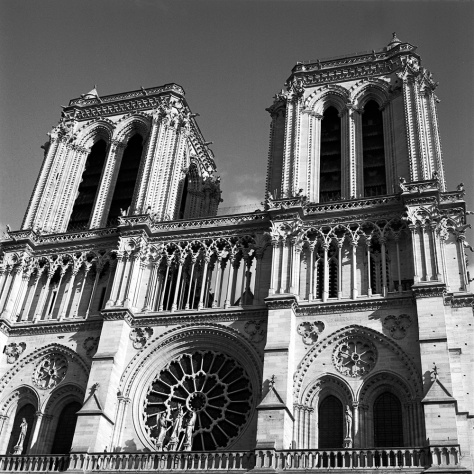Twin Towers, Notre Dame