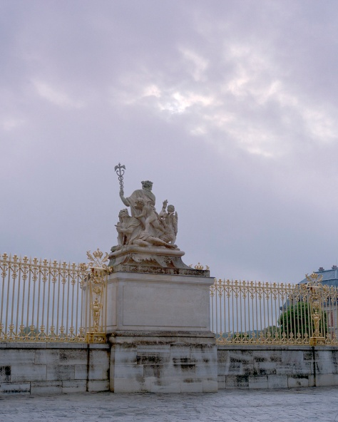 Statue, Entrance Gates, Versailles