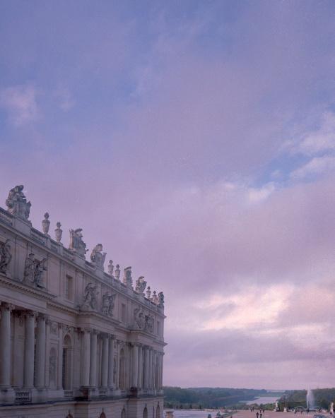 Versailles, Clouds, Gardens