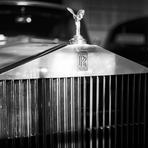 Mrs. Dupont's Rolls Royce Grille