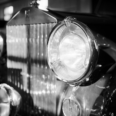 Mrs. Dupont's Rolls Royce Headlamp