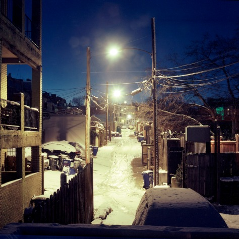 Night, Snow, My Alley