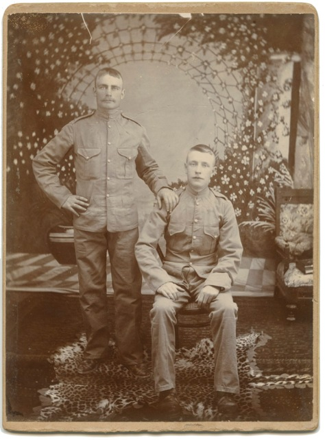 Two British Soldiers, Chunk Restored