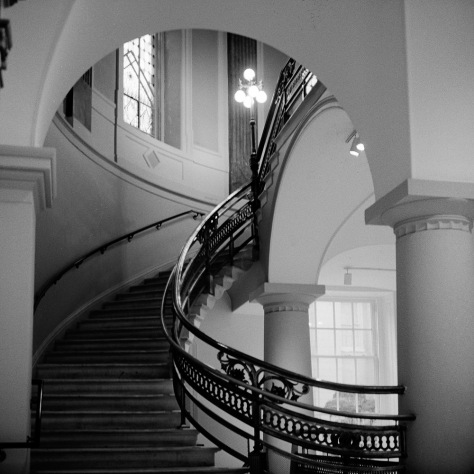 Staircase, National Portrait Gallery
