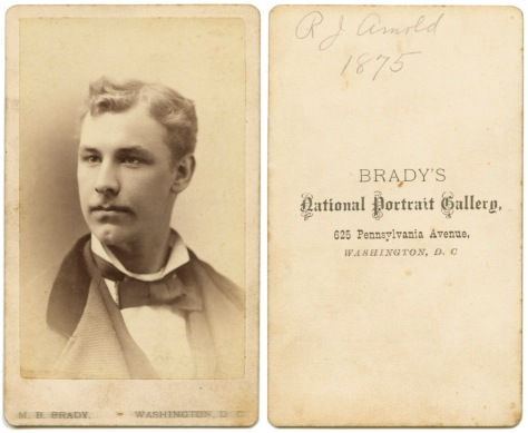 Brady CDV, R.J. Arnold