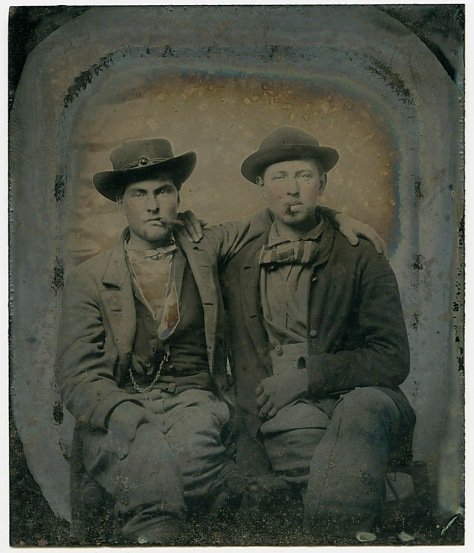 Affectionate Confederates - 1/6 plate