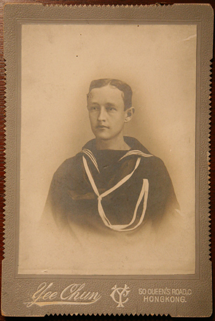 Sailor, Hong Kong Cabinet Card
