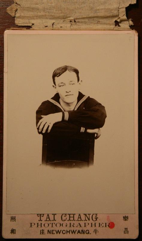 Sailor, Hong Kong cabinet card