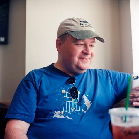 Steve at Starbucks