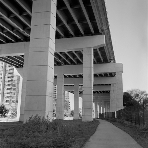 Below The Gardiner Expressway