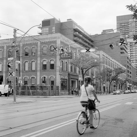 Cyclist, King Street