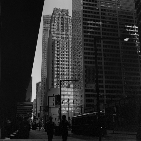 Early Morning, Downtown Toronto