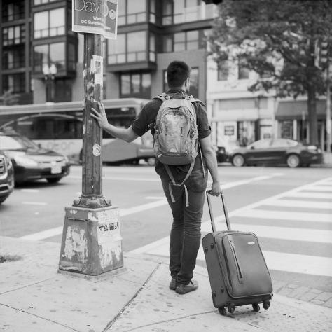 Man With Bags, 14th & U Street