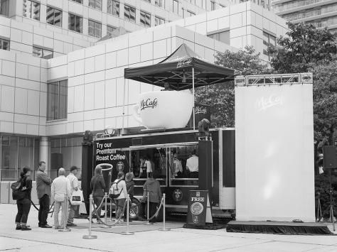 McCafe DJ Booth