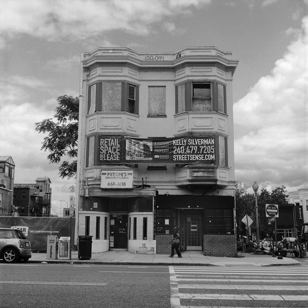 Gentrification dcphotoartist for 14th avenue salon