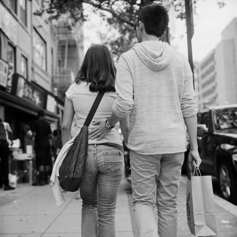Shopping Couple, U Street