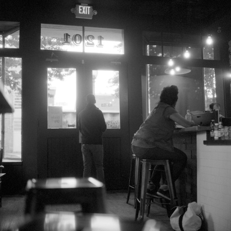 The Coffee Bar, Interior, Evening