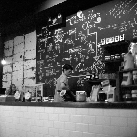 The Coffee Bar, Menu