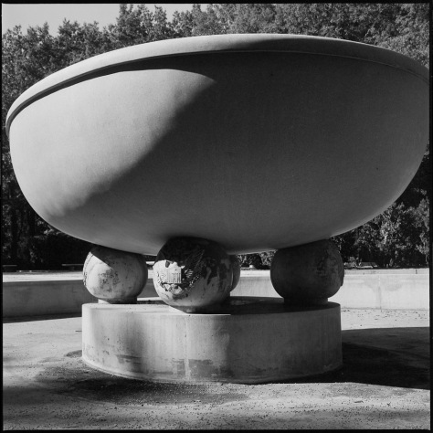 Fountain Bowl, Roosevelt Monument
