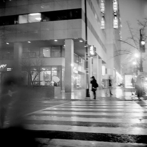 Lone Pedestrian
