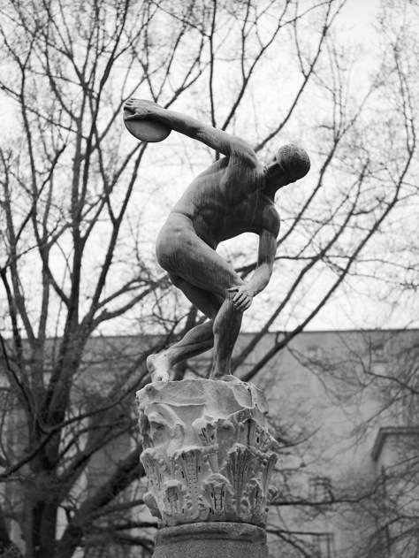 Discus Thrower, Kelley Park