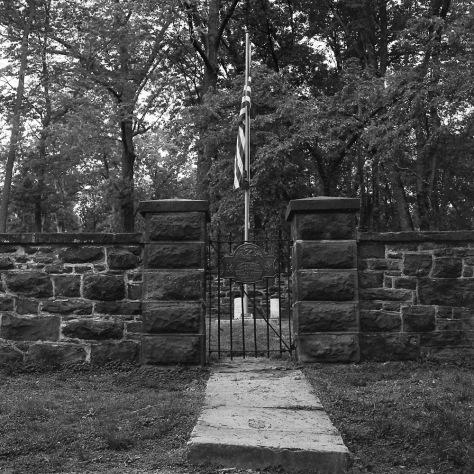 Balls Bluff Cemetery Gate