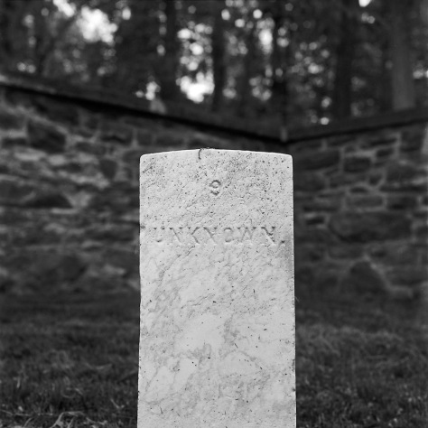 Balls Bluff Unknown Headstone