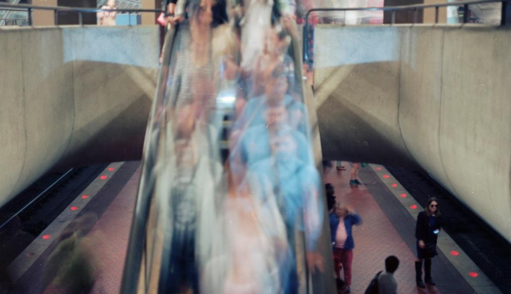 Down Escalator Flow