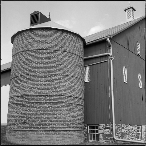Silo, Thomas Farm Barn