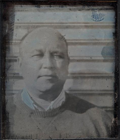 Self-Portrait, Daguerreotype