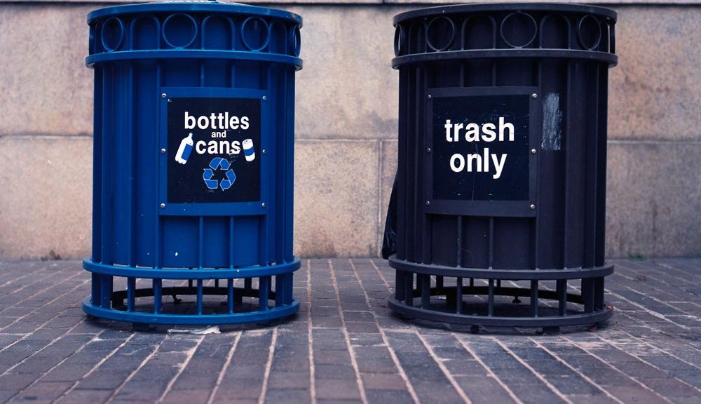 Bottles, Cans, Trash