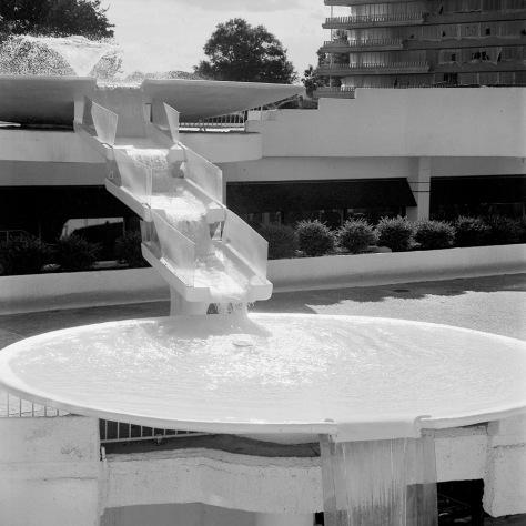 Fountain, Center Courtyard, Watergate
