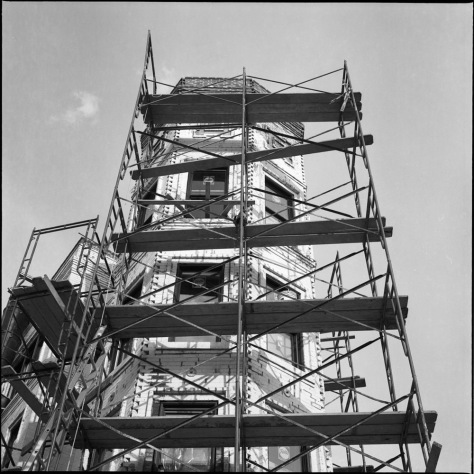 Turret, Scaffold