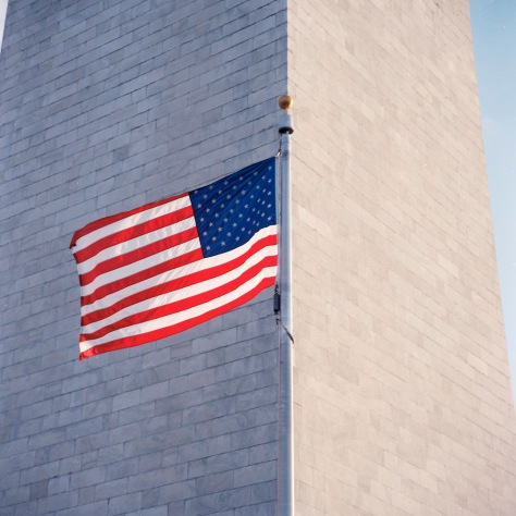 Flag, Washington Monument