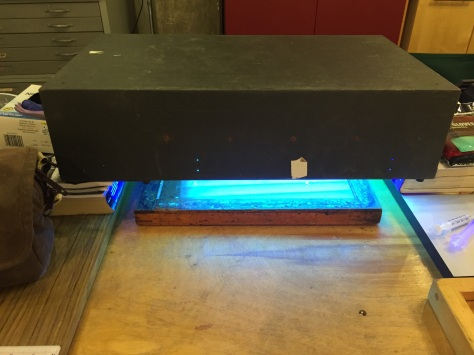 Grace Taylor's Old UV Unit in Action