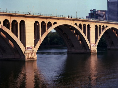 Key Bridge, Evening, West Side