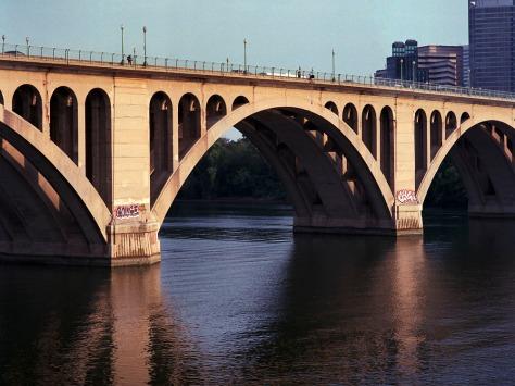 Key Bridge, Evening, West Side