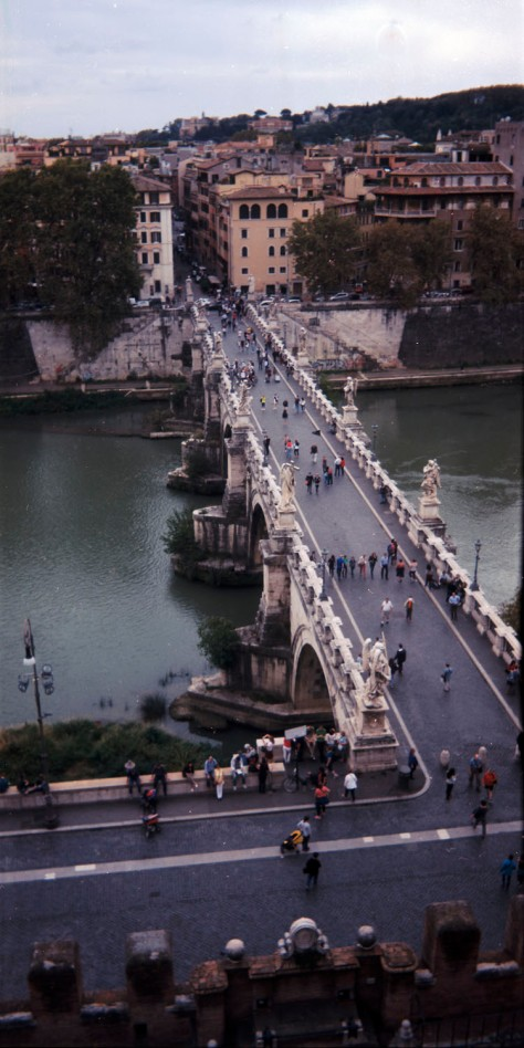 Bridge From Castel SantAngelo