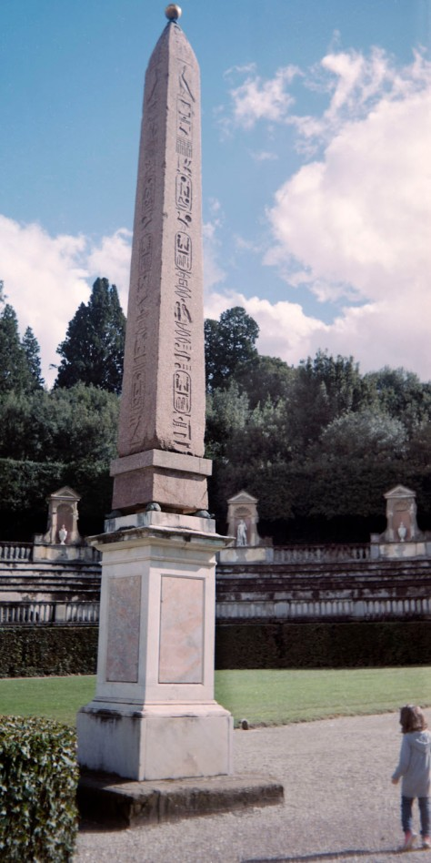 Obelisk Boboli Gardens