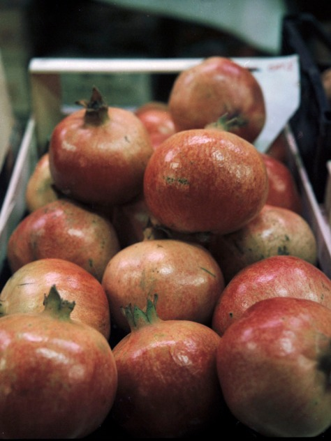 Pomegranates, Mercato Centrale