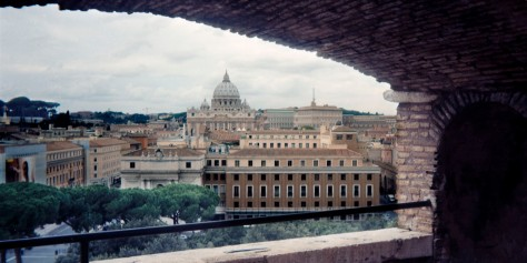St. Peters From Castel SantAngelo