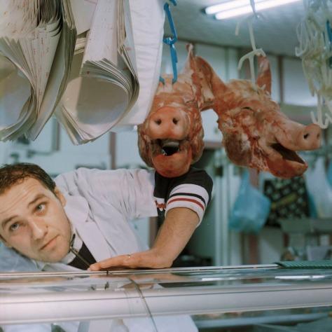 Pigs heads, Mercato Centrale