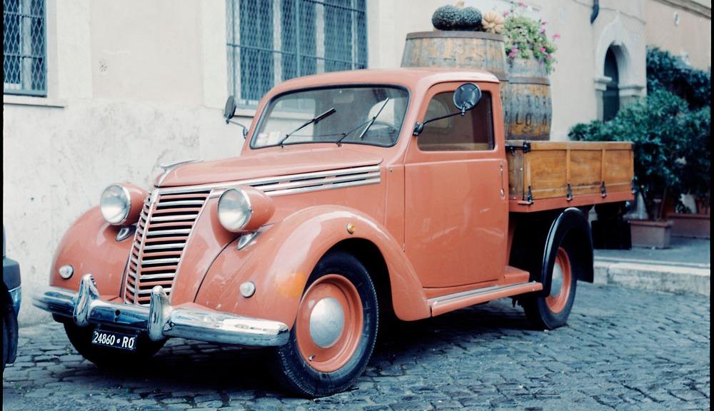 Advertising Truck, Trastevere