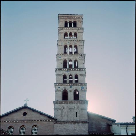 Belltower, Sta. Maria in Cosmedin