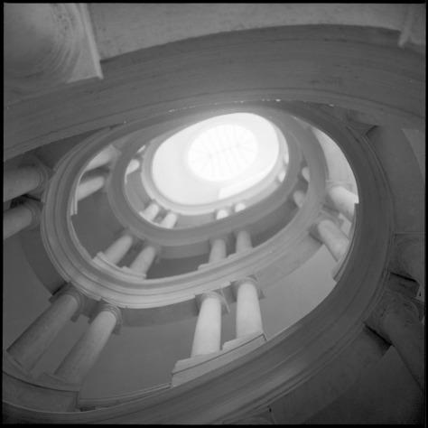 Borromini Staircase, Palazzo Barberini